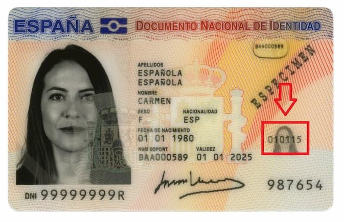 Image result for fecha expedición dni png