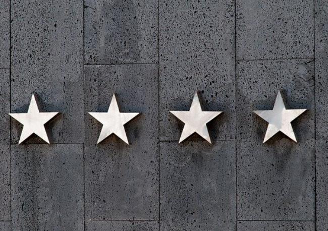 ¿Qué significan las estrellas de los hoteles?